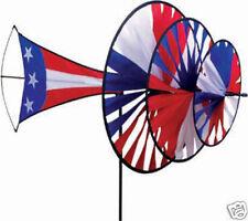 Patriotic Large Triple Wind Directional Spinner..30.... PR 25259