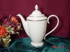 Lenox Tuxedo Platinum Coffeepot NEW $530 USA