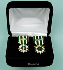 Rvn Vietnam Campaign Medal Cuff Links in Presentation Gift Box Cufflinks