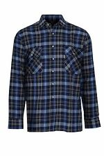 Plaid Regular Collar Casual Singlepack Shirts & Tops for Men