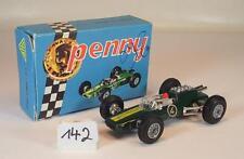POLISTIL Penny environ 1/66 Nº 0/3 LOTUS CLIMAX f1 formule 1 vert neuf dans sa boîte #142
