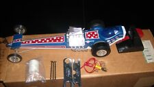 COX DRAGSTER ELIMINATOR II .049 NITRO METHANE TETHER LINE,NEVER STARTED IN BOX