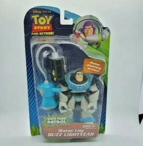 Toy Story and Beyond Water Log Buzz Lightyear Rare and Collectable Free Shipping