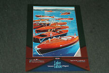 2013 signed poster from the Lake Tahoe Wooden Boat Concours by Roy E. Dryer III