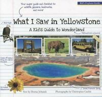 What I Saw in Yellowstone: A Kid's Guide to Wonderland (Paperback or Softback)