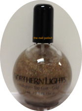 inm Northern Lights Hologram Top Coat Gold 73ml =  2.5oz BRAND NEW