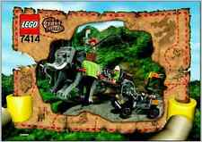 LEGO 7414 Adventurers: Orient Expedition - Elephant Caravan - 2003 - NO BOX