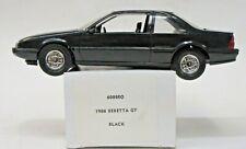 1988 CHEVROLET BERETTA GT black dealer promotional model Mint in Box