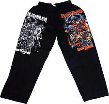 IRON MAIDEN Long Pants Music Hard Classic Rock Metal Death Thrash Heavy Black