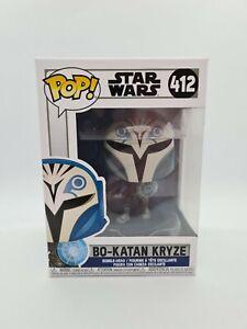 Funko POP! Star Wars Bo-Katan Kryze Mandalorian The Clone Wars Vinyl Figure #412
