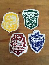 Harry Potter House Crests Vinyl Decal/Sticker gryffindor, hufflepuff,slytherin