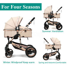 Foldable Pram Pushchair Newborn Baby Stroller Buggy Carriage Infant Travel Car