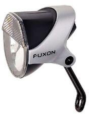 FUXON Scheinwerfer Fahrradlampe Standlicht LED für Nabendynamo + Halter/Schalter