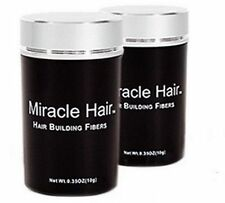Miracle Hair LARGE 2-25G BLACK ~LOW COST SUBSTITUTE 4 EXPENSIVE BRANDS