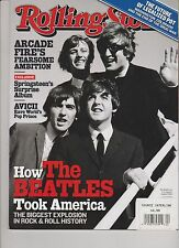 ROLLING STONE MAGAZINE #1200 JANUARY 16th,2014.THE BEATLES NO LABEL