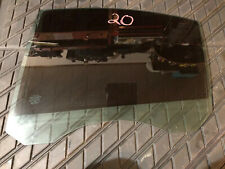 Volvo OEM 07-16 S80 Glass Rear Door Window Left Driver Inscription Tinted