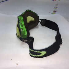 Oakley Ski / Snowboard GOGGLES Adjustable Head Band Green Lens is VERY Scuffed