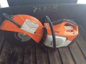 "STIHL TS420 HANDHELD 14"" GAS POWER CUT OFF SAW"