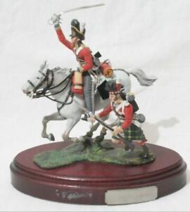 Superb BPC Pewter Figure Charles C Stadden - Mounted #2