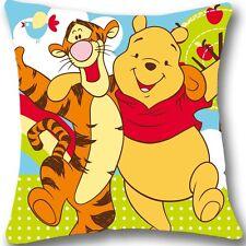 Winnie the pooh Zippered 18x18 Cushion Cover Case Decorative Pillowcase L867