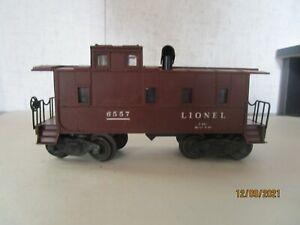 Lionel, 6557, Smoke Caboose