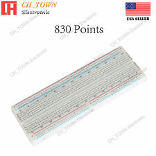 MB-102 MB102 830 Tie Point Solderless PCB BreadBoard For Arduino Test DIY USA