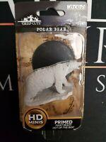 Polar Bear - D&D - Wizkids Deep Cuts Miniatures