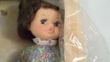 "Vintage Cabar 12"" Made Italy Doll in orig box Rooted Hair, Eyelashes"