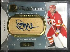 14-15 The Cup Scripted Sticks Doug Gilmour #02/35 Calgary Flames