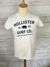 Men's Hollister T-Shirt - Small - White - Great Condition