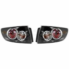 Taillamp Taillight LH & RH Pair Set for 07-09 Mazda 3 Sedan