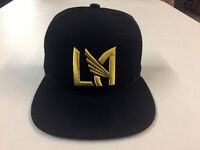 Los Angeles FC Snap Back Cap Hat LAFC Embroidered Adjustable Football Club