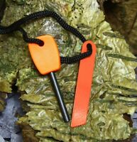 SMALL MAGNESIUM & STEEL FIRE STARTER - UK, Flint &  Steel, Bushcraft, Camping,