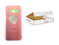 Pink Rose Gold Back Glass Cover Replacement Adhesive Tool Fit Galaxy S7 G930