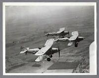 HAWKER HIND VINTAGE ORIGINAL THE AEROPLANE PRESS PHOTO RAF ROYAL AIR FORCE 2