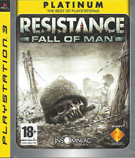 RESISTANCE FALL OF MAN for Playstation 3 PS3 - Platinum