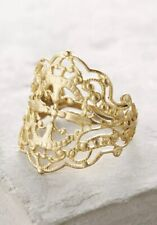 NWT Anthropologie Gilded Lace Ring Vanessa Lianne