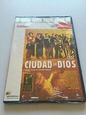 CIUDAD DE DIOS - CINE PUBLICO II - DVD - 130 MIN - SLIMCASE - NEW SEALED - NUEVA