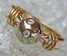 ღ♥Brilliant Ring in aus Gold Brillant Schmuck mit Brillanten Diamantring Diamond