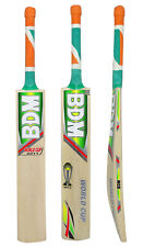 World Cup 2011 BDM Adult Sizes English Willow Wood Cricket Bat With Carry Case