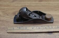 "Antique Stanley No.20 Block Plane,2"" X 7,W/""SW Blade,Pat. 10-12-1897,Good Cond."