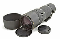 RARE Ex TOKINA AT-X 340 AF II 100-300mm F4 Lens for Canon + Case,Hood from Japan