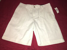 Nwt Mens Van Heusen White Shorts Size 32