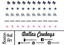 NFL - Dallas Cowboys - Waterslide Nail Decal - 50 PC