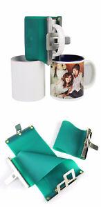 Mug Wrap für 11oz Fototasse Sublimation + Anleitung Alternative zu Tassenpresse