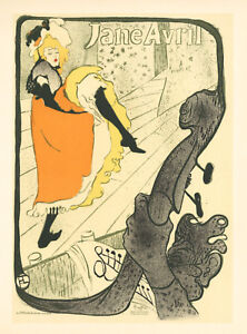 Toulouse-Lautrec lithograph poster (printed by Mourlot) 345678