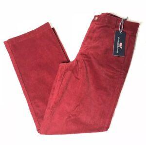 Vineyard Vines Boys Classic Fit Club Red Corduroy Pants size 14,16,18 NWT