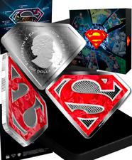 2017 Superman Diamond Shield DC ComicsOriginals $100 10OZ PureSilver Coin Canada