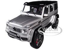 MERCEDES BENZ G500 4X4 2 SILVER 1/18 MODEL CAR BY AUTOART 76318