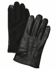 Polo Ralph Lauren Mens Hand Stitched Leather Touch Gloves  Black